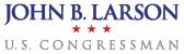 John B. Larson US Congressman Logo