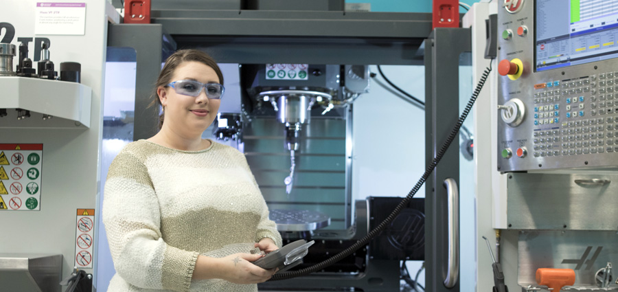 CNC degree in CT