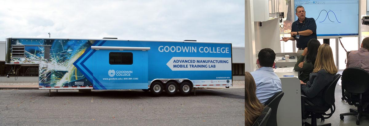 photo of mobile manufacturing lab