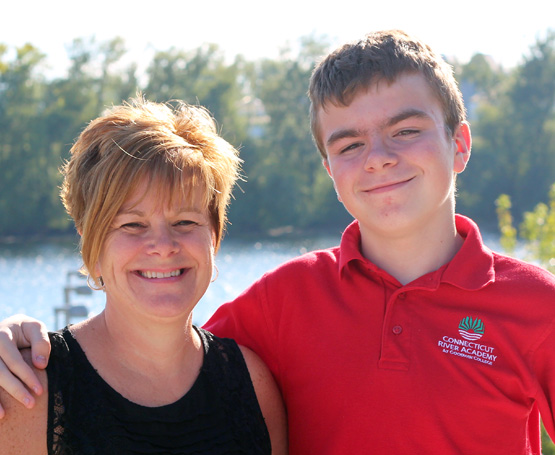 Connecticut River Academy mother and son