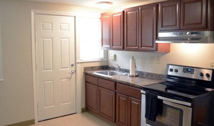 kitchen in housing