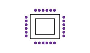 Square Seating Configuration